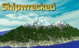 Shipwrecked- The Island- Costum World Painter Terrain Minecraft Map & Project