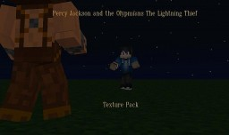 Animated Percy Jackson and the Olympians The Lightning Thief Texture pack Minecraft Texture Pack