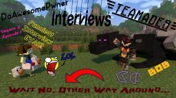 Teamades Interviews DAP (DaAwesomePwner) Funniest Interview Evah! Season 2 Episode 1 Minecraft Blog