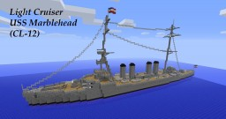 USS Marblehead (CL-12) Minecraft Map & Project