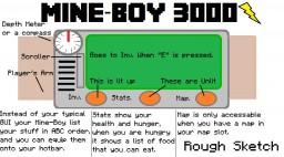 Mine-Boy 3000 (A Pip-Boy Mod Idea) Minecraft