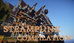 Compilation of steampunk buildings ! Minecraft Project