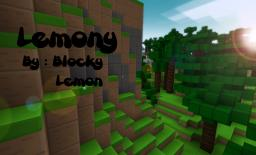 Lemony Blocks Minecraft Texture Pack