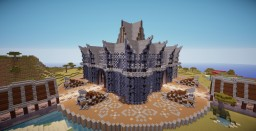 The Clockwork Network's HCF Spawn Minecraft Map & Project