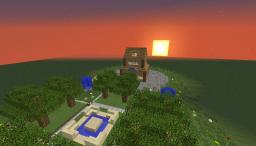 House Design With Parkway Minecraft Map & Project