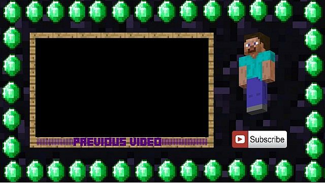 Outro template minecraft project for Minecraft outro template movie maker
