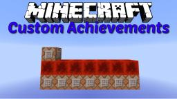 Custom Achievements in default look Minecraft Project