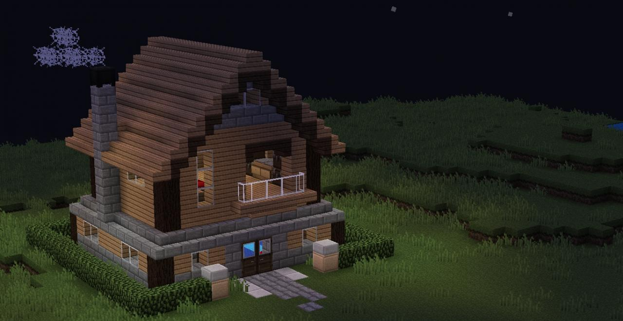 Custom Cozy House Minecraft Project