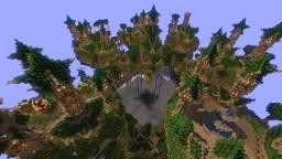 Elven City Of Ethrow Minecraft