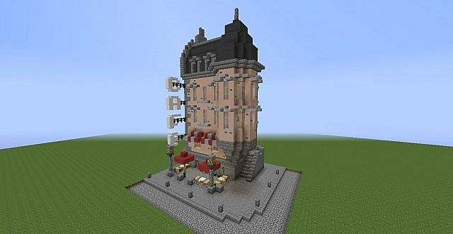 Little Corner Cafe Minecraft Project