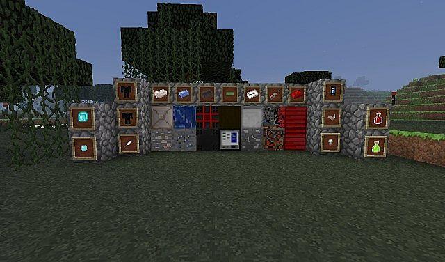 MarvelCraft Blocks and Items