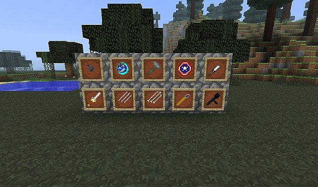 MarvelCraft Weapons