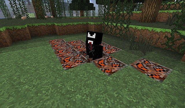 Break the Meteorite block to spawn Venom