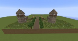 Medieval Monastery Minecraft Project