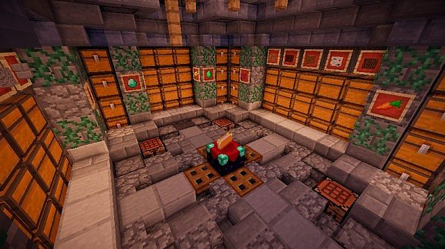 Medieval Storage Room Minecraft Project