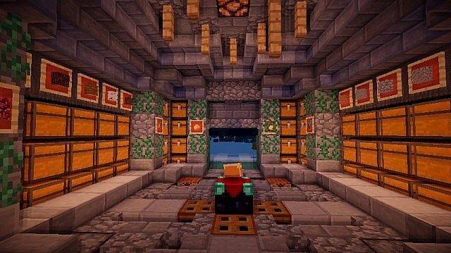 Medieval Storage Room Minecraft Project