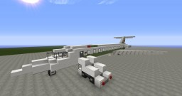 McDonell Douglas MD-82 Alitalia Minecraft Map & Project