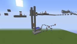 The 4 Challanges Of Parkour Minecraft Map & Project