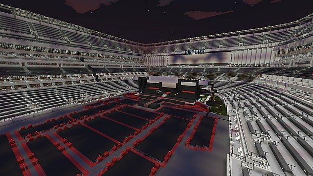 Metlife Stadium Concert Minecraft Project