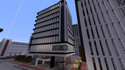 Modern Office Highrise Minecraft Map & Project