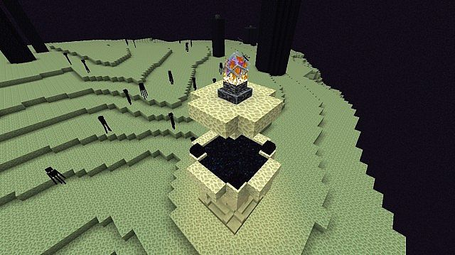 Back to the overworld end portal design minecraft project for Portale design