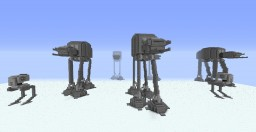 AT-AT (All Terrain Armored Transport) Minecraft