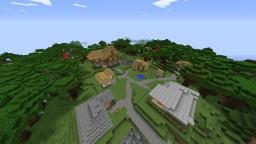 Ender's Little Village Minecraft Map & Project