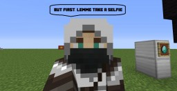 How to take a selfie in Minecraft! [30 sub special] Minecraft Blog Post