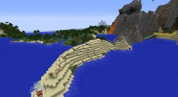 The Volcano Coaster Minecraft Map & Project