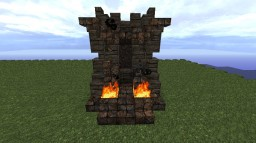 King's Throne - Inspired by the Iron Throne Minecraft