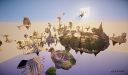 SkyPvP World Minecraft Map & Project