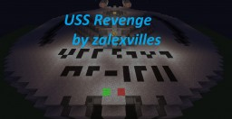 USS Revenge Minecraft Map & Project
