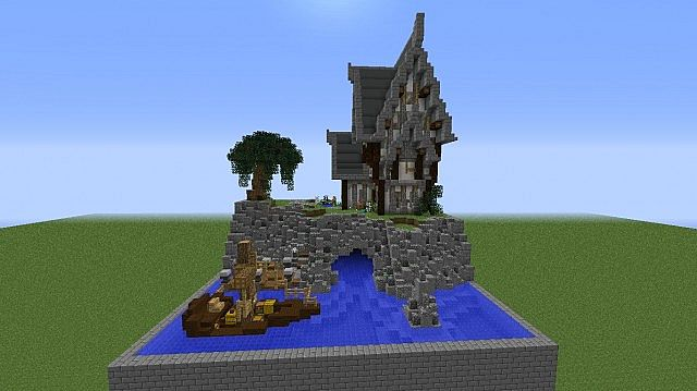 You Dont Get 100 >> steampunk house (plot) Minecraft Project