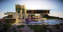 Modern House 5 Minecraft Map & Project