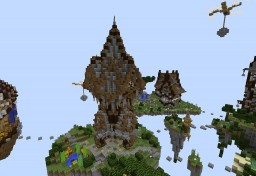 Sky PvP Map Minecraft Map & Project