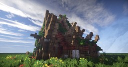 Spring's style house Minecraft Map & Project