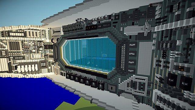 The new hangar