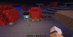 Mushroom House Minecraft Map & Project