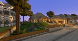 Small Traditional Mansion Minecraft Map & Project