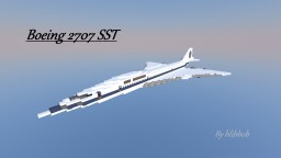 Boeing 2707 Super Sonic Transport Minecraft