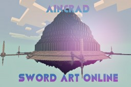 * Aincrad * Sword Art Oline (PE) Minecraft Map & Project