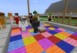Dance Floor with We Will Rock You Minecraft Map & Project