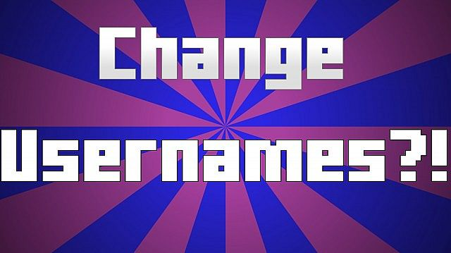 how to change your minecraft username without mojang