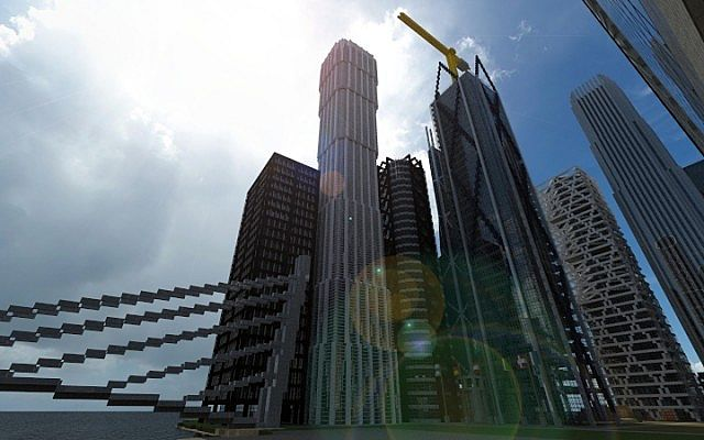 China Zun Tower Minecraft Project