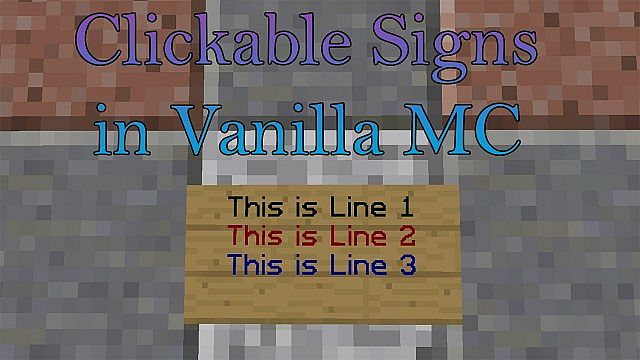 how to change color of text on signs in minecraft