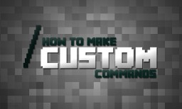 How To Make Custom Commands Minecraft Blog Post