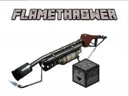 Flamethrower in Minecraft [ALPHA] Minecraft Project