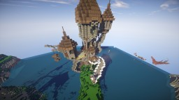 Wizard Tower (Also known as the Tower of Power) Minecraft