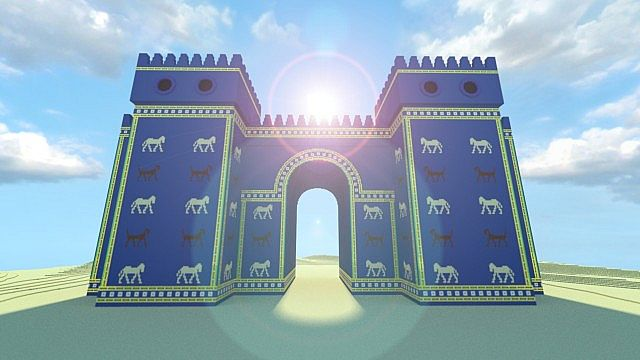 historycraft ishtar gate babylon minecraft project