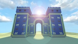 [Historycraft] Ishtar Gate, Babylon Minecraft Map & Project